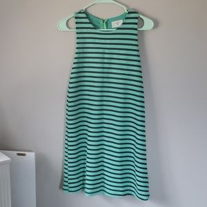 Cute Pin Striped Party Dress